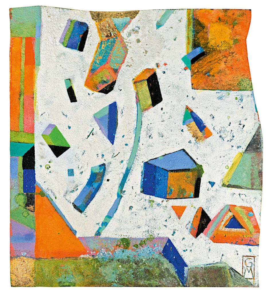 Gerlinde Mader, Abrakadabra, 29 x 26 cm