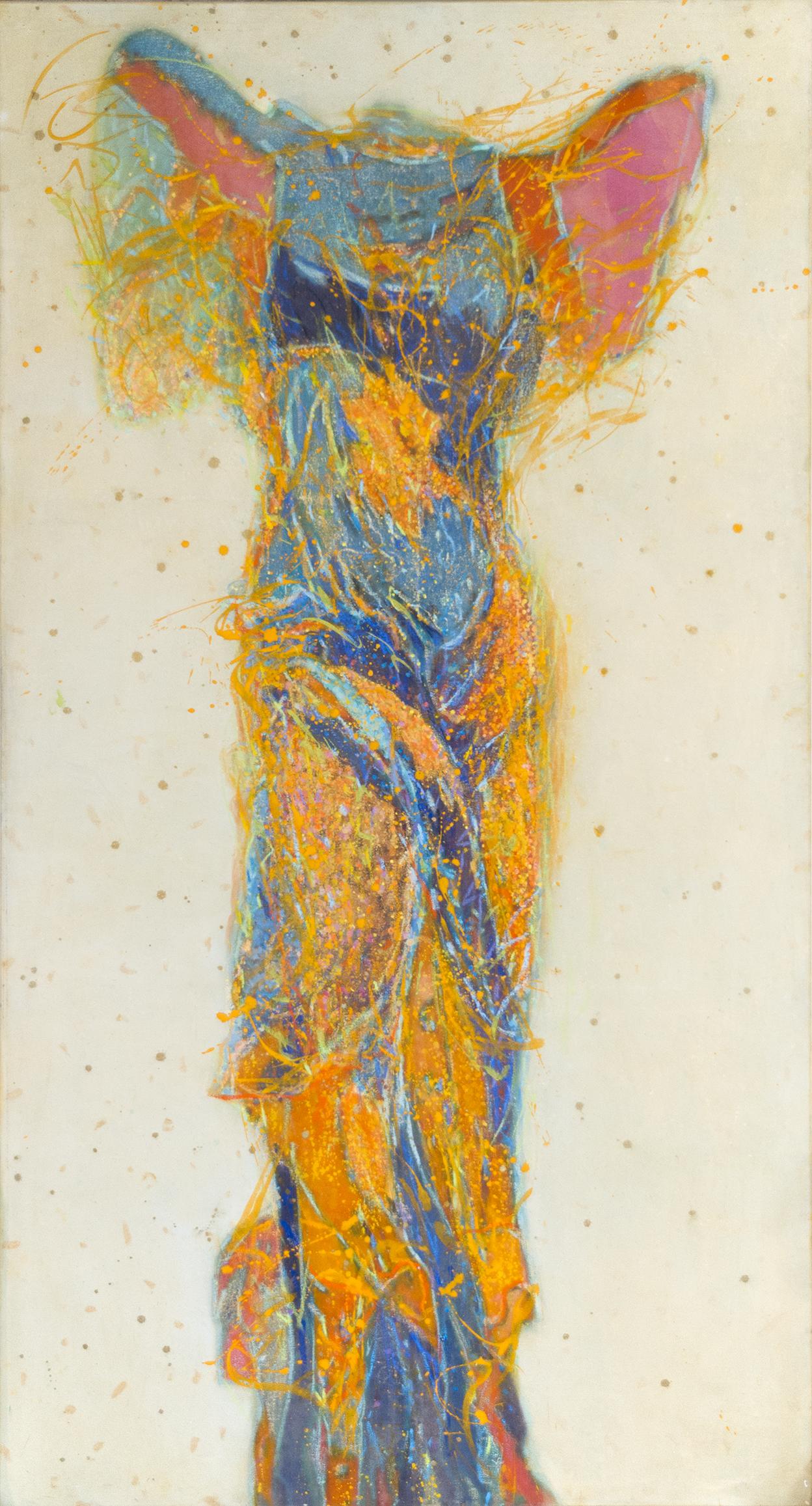 Aurora Nike von Samothrake - Malerei von Gerlinde Mader