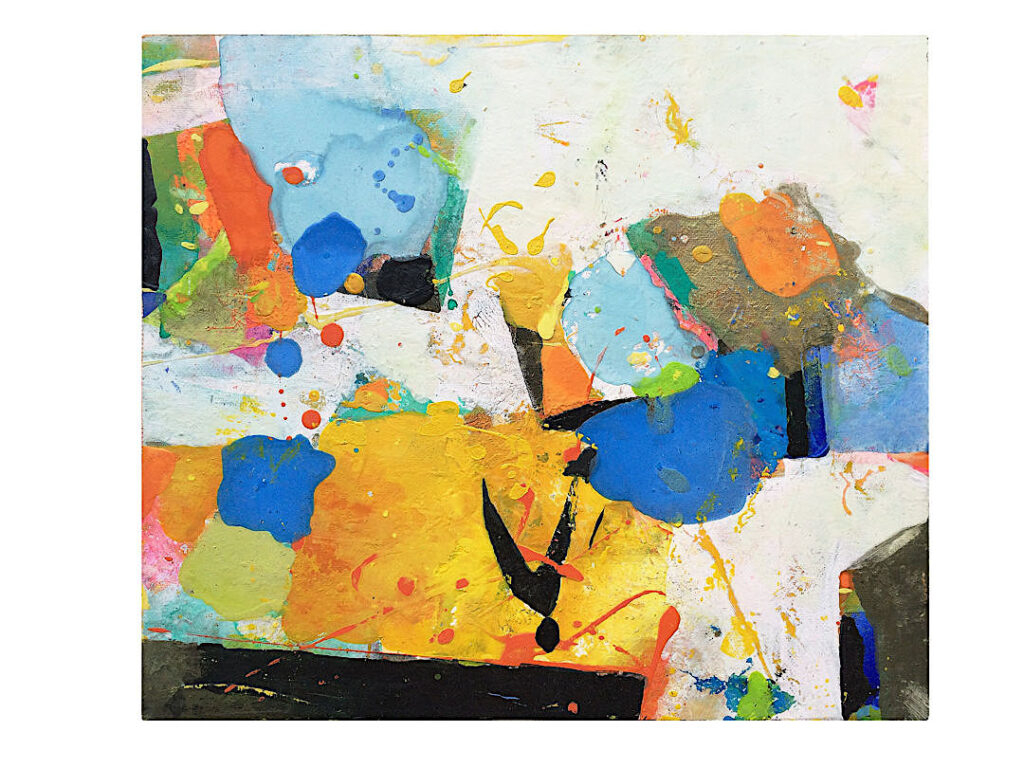 Gerlinde Mader Abstrakt II 25x29 cm