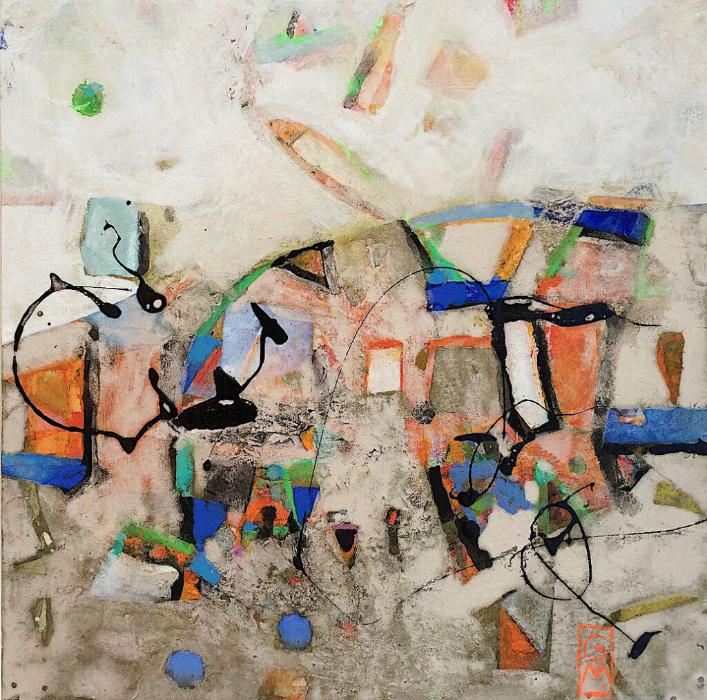 Gerlinde Mader »Komposition VII«