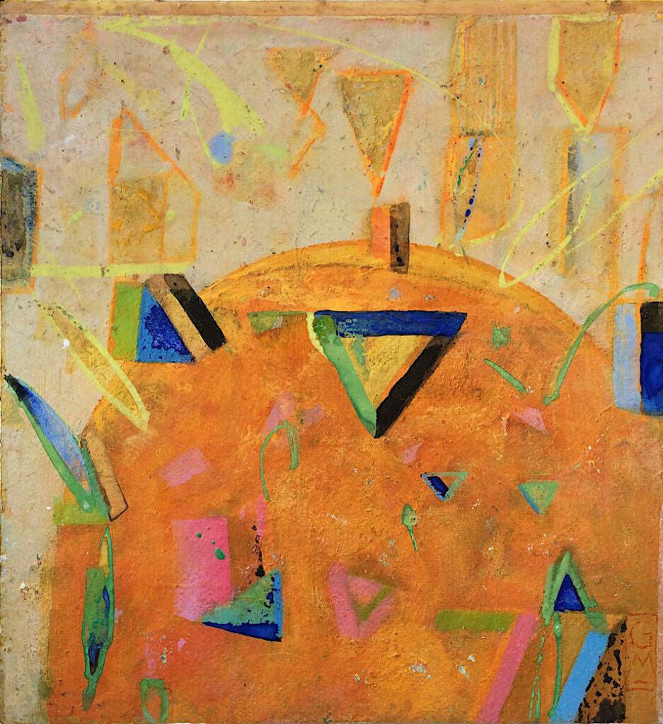Gerlinde Mader »Komposition mit Dreieck«