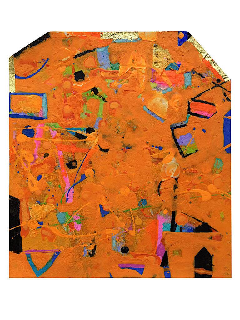 Gerlinde Mader »Orange II«