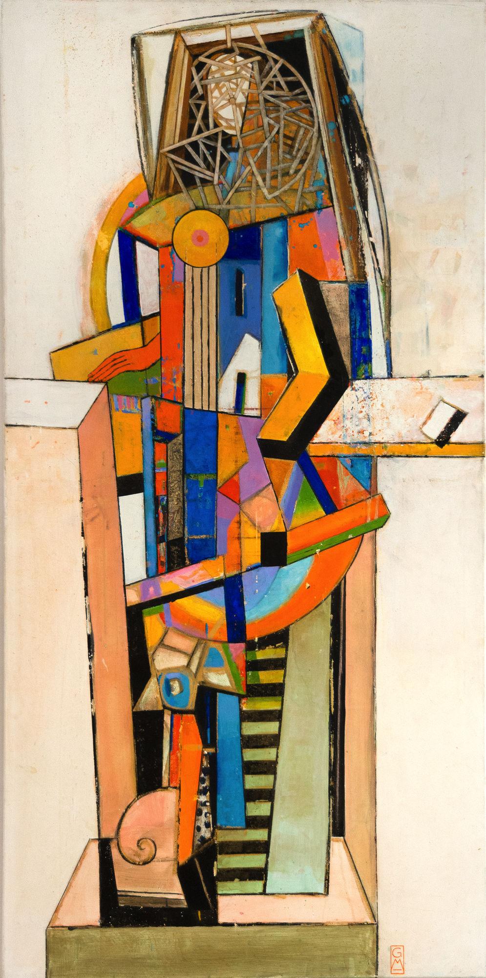 Im Gehäus | 2004 | 180 x 90 cm | Gerlinde Mader