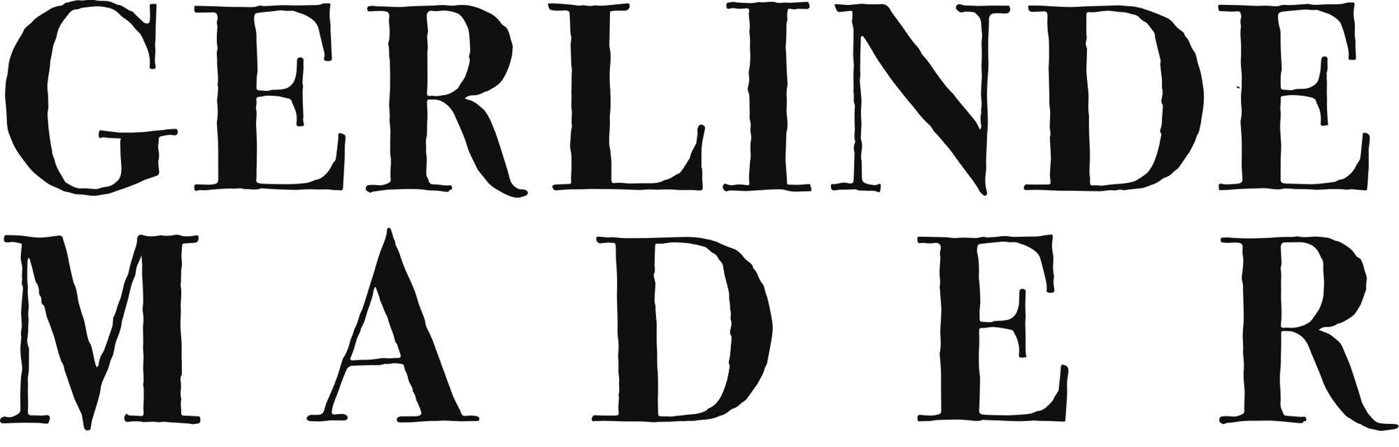 Gerlinde Mader Logoschriftzug