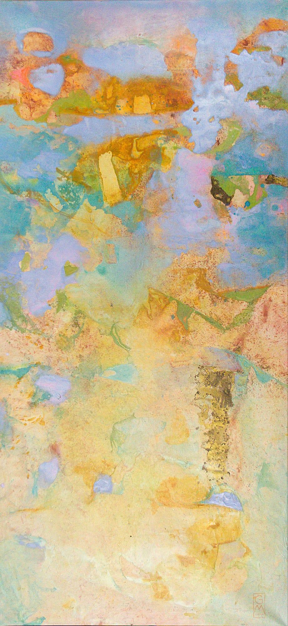 Gerlinde Mader | Abstrakt IX | 180 x 85 cm | Gerlinde Mader