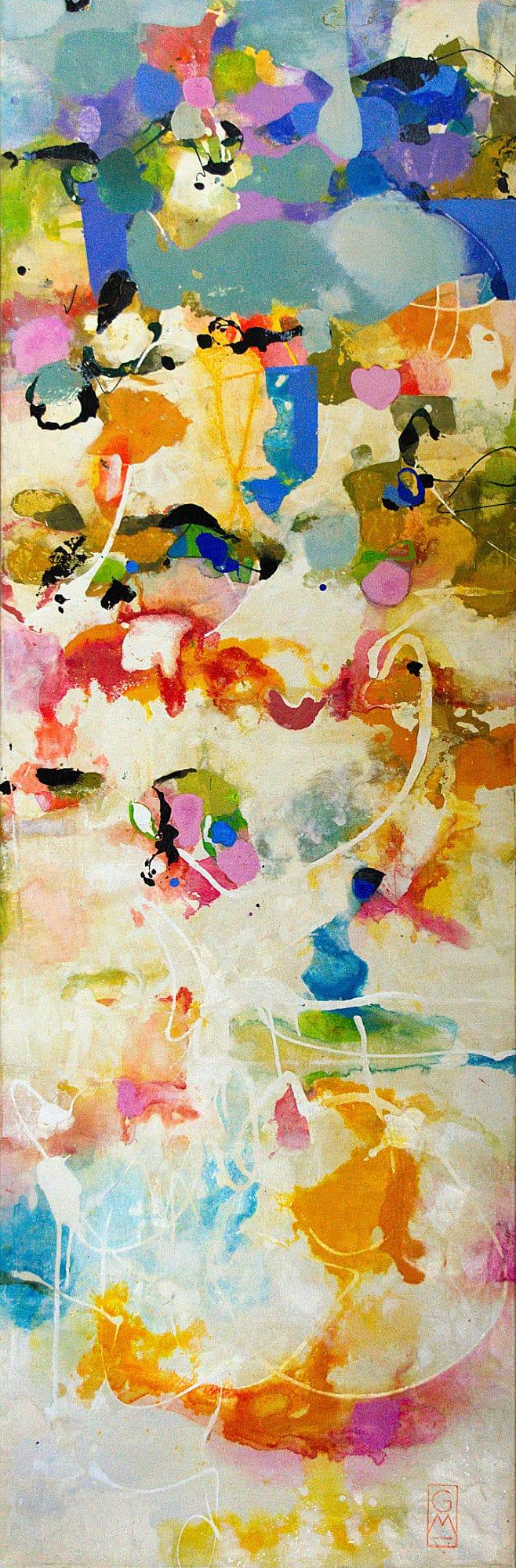 Abstrakt X | 180 x 60 cm