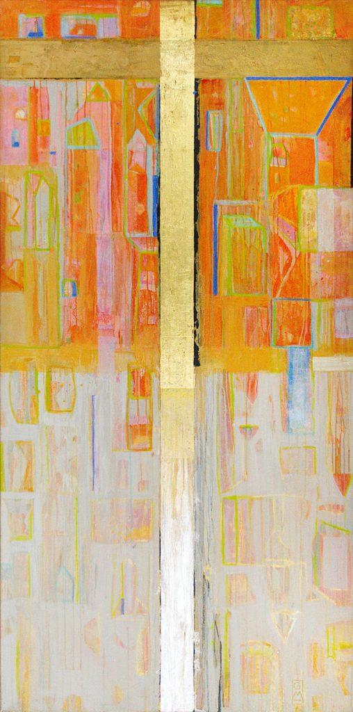 Auferstehung | 180 x 90 cm | 2006