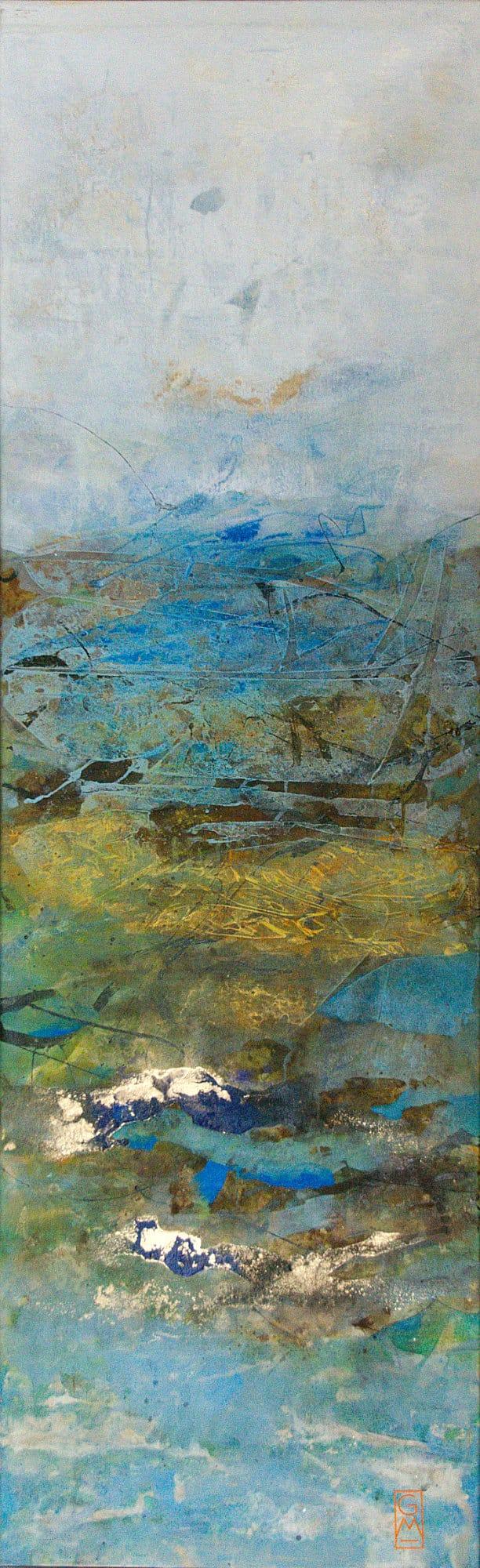 Dunkler Strand | 180 x 56 cm | 2015