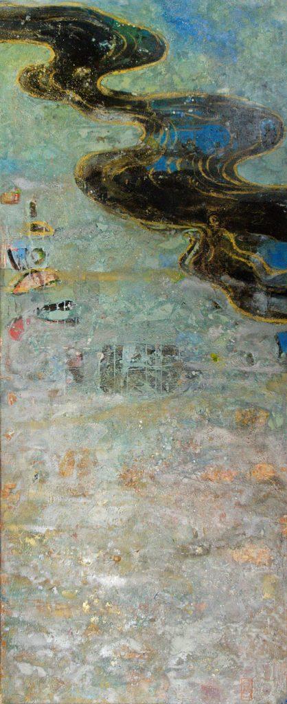 Fluss I | 180 x 75 cm | 2005