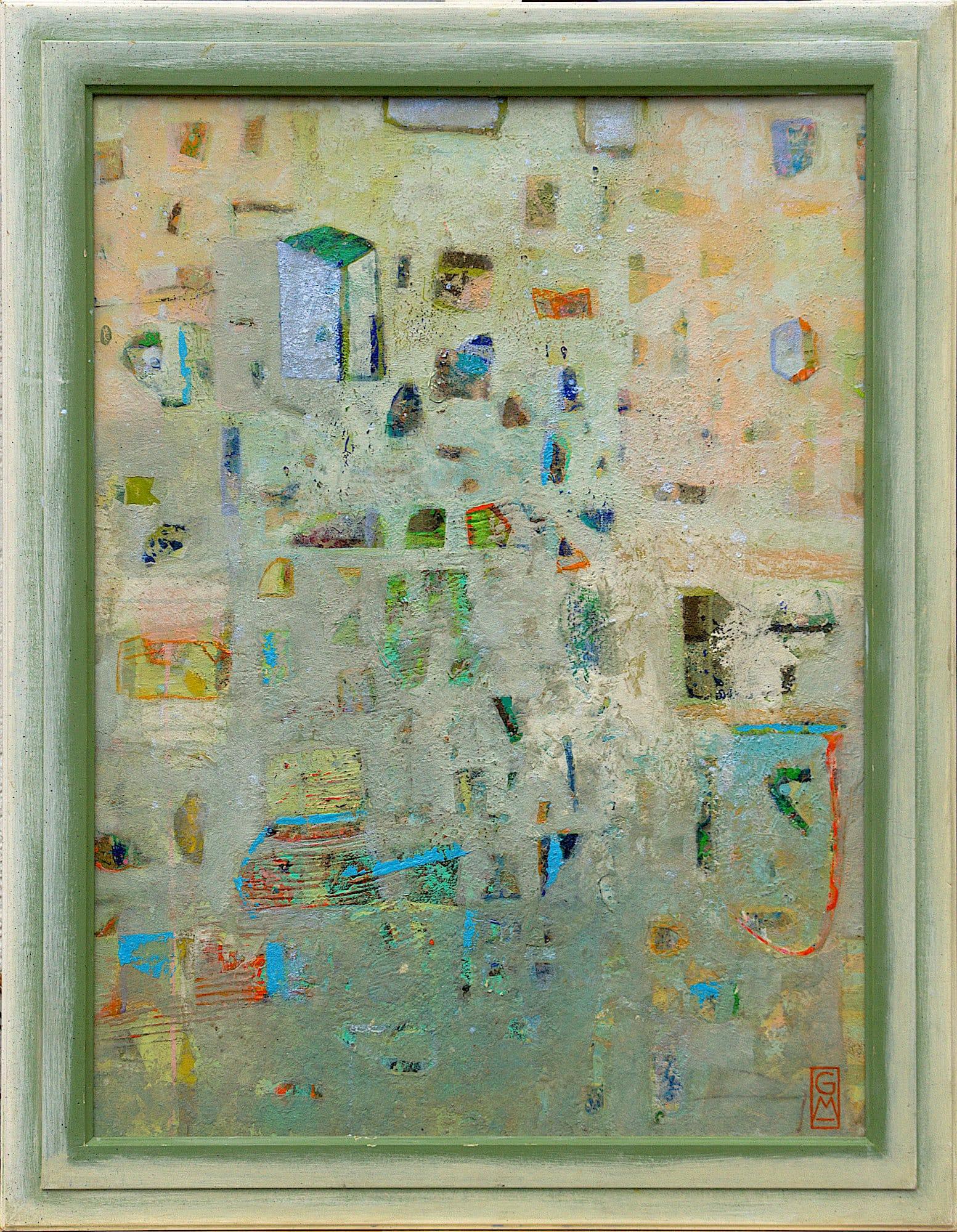 Gerlinde Mader | Abstrakt-VIII | 93 x 73 cm inkl. Rahmen