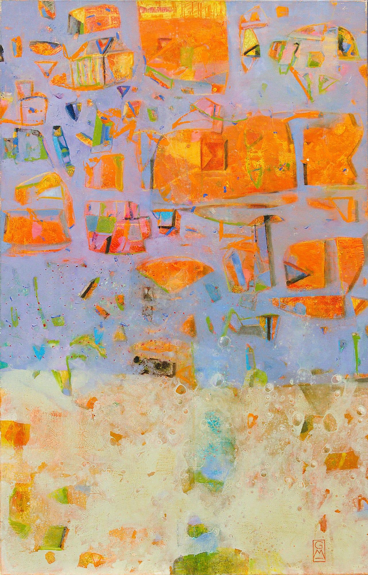 Gerlinde Mader | Abstrakt-XIII | 135 x 85 cm