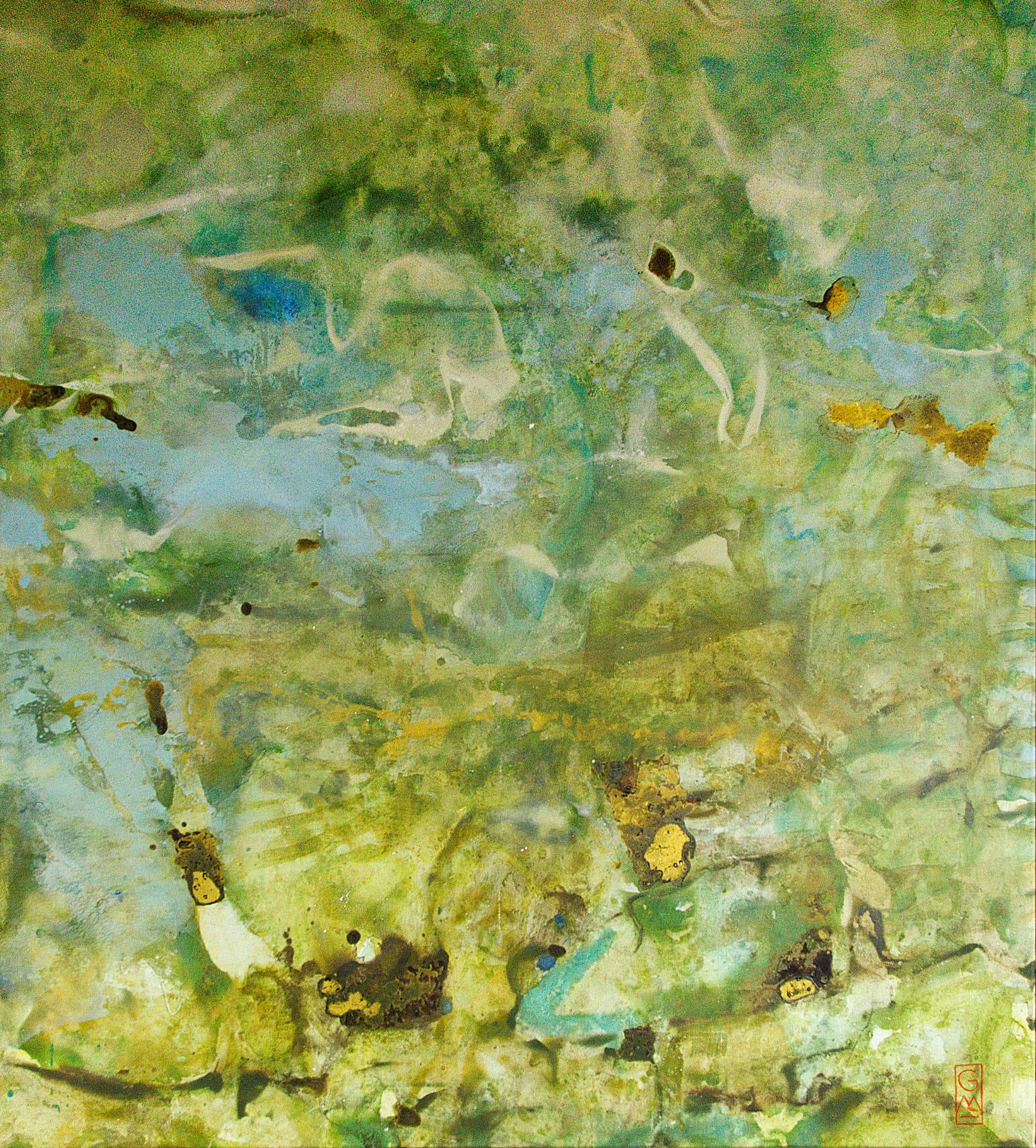 Gerlinde Mader | Abstrakt-XIV | 150 x 130 cm
