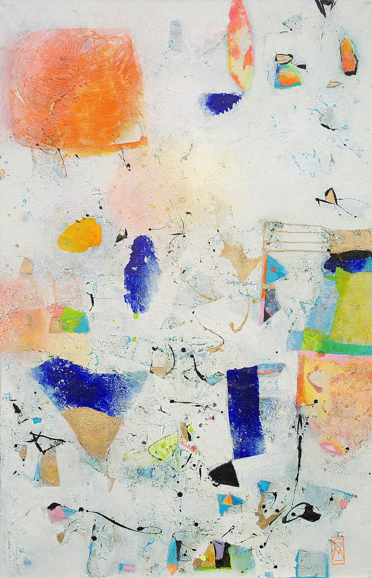 Gerlinde Mader | Abstrakt-XXXII | 140 x 90