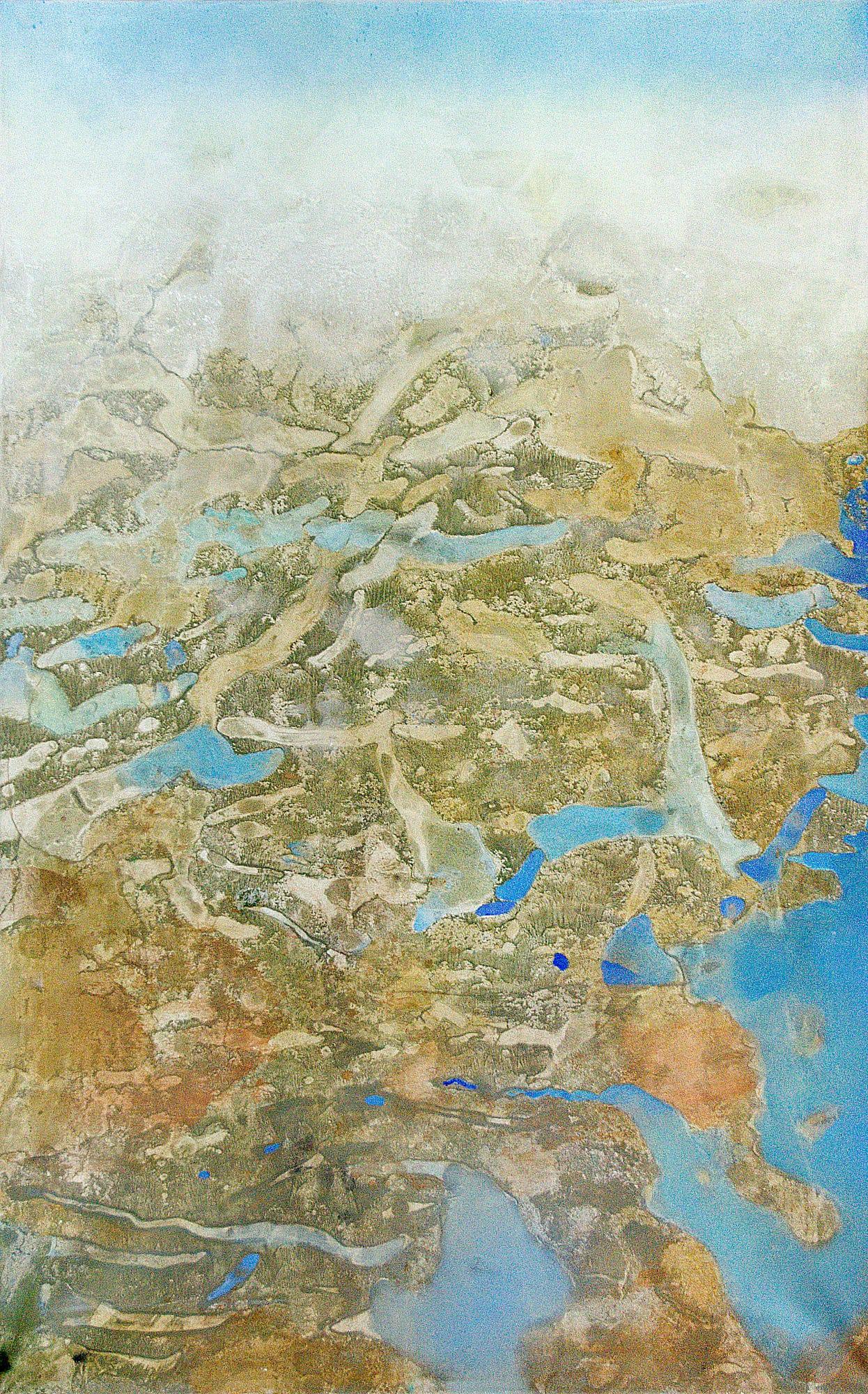Gerlinde Mader | Flug-ueber-Land-I | 135 x 85 | 1996
