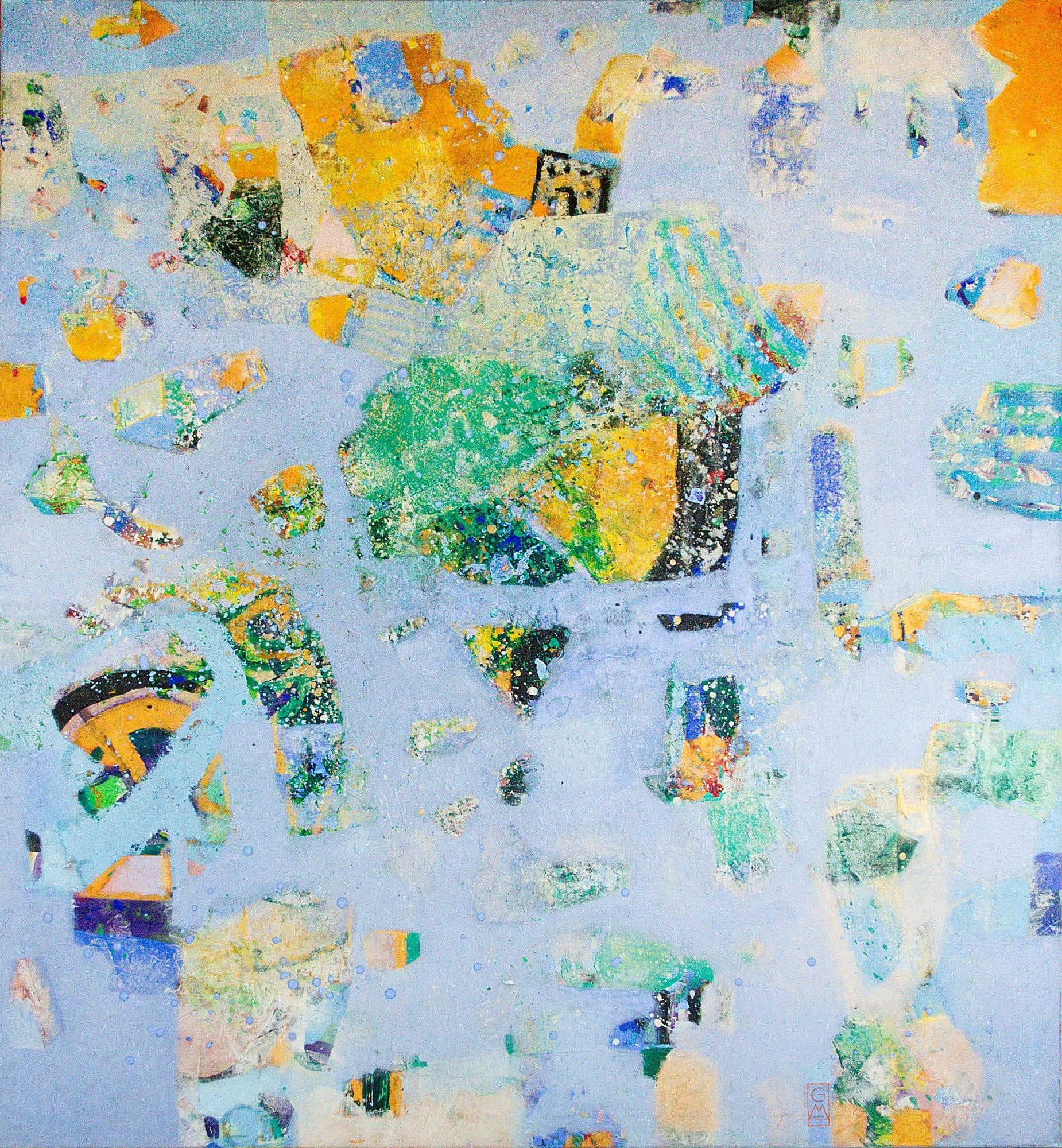 Gerlinde Mader | Mediterran | 140 x 130cm