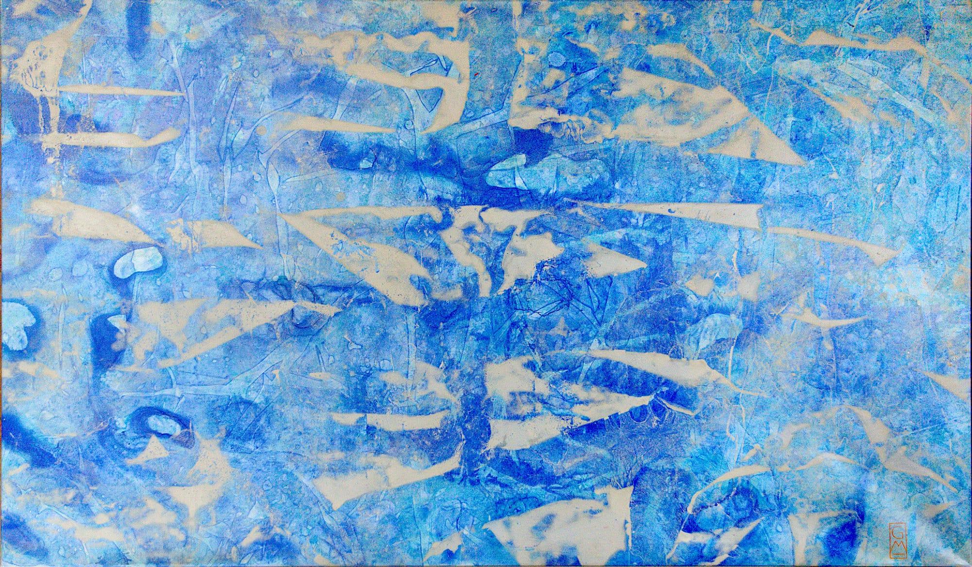 Gerlinde Mader | Wasserspiel | 170 x 90 cm
